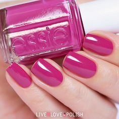 Essie 'Big Spender' -- rich Bright Spring plum, especially once fall and winter arrive (BSp 7.8) -- have to love nailpolish (unlike cosmetics, if the polish matches your palette, you're good to go)