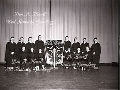 March 17, 1950 Mayfield High School National Honor Society