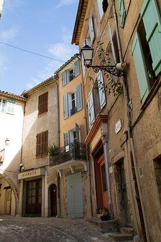Village Street, Seillans, Provence