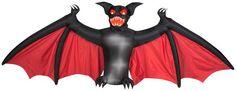 Animated Scary Bat   Christmas Light Express