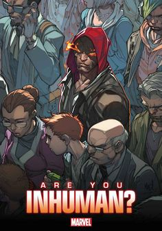 Hear from Matt Fraction, Axel Alonso and Nick Lowe on Inhuman, with art by Joe Madureira! Are you Inhuman? http://marvel.com/news/story/20878/find_out_whos_inhuman