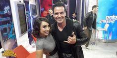 With Antonio Sabato Jr. on GMA!