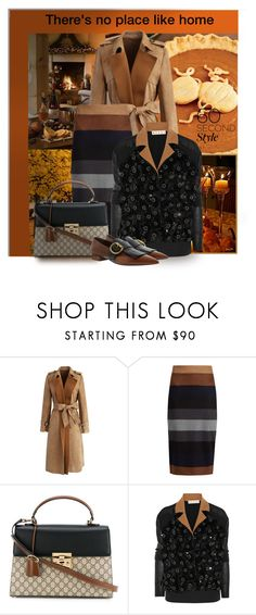 """""""No place like home"""" by interesting-times ❤ liked on Polyvore featuring Forum, Chicwish, MaxMara, Gucci, Marni, Prada and familydinner"""