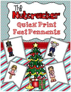 These adorable pennants/banners will spice up your Nutcracker unit during the holiday season.  Simply print on sturdy card-stock or tag-board, laminate, and create a bulletin board or a creative banner/pennant.  Better yet, let your students brainstorm ideas of how to use this fantastic resource.