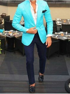 Would you wear Wednesdays - Bucco Couture -Custom clothing of distinction- custom suits in NY NJ PA Blazer Outfits Men, Mens Fashion Blazer, Suit Fashion, Smart Casual Men, Stylish Men, Sharp Dressed Man, Well Dressed Men, Terno Slim, Moda Formal