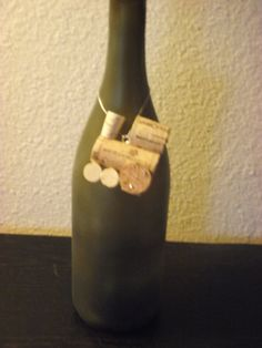 wine cork train/ bottle decoration by AvilaRoseGarden on Etsy