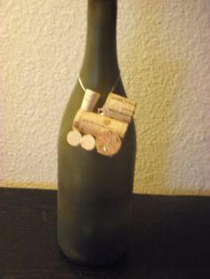 wine cork train/ bottle decoration by AvilaRoseGarden on Etsy