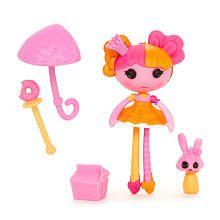 Lalaloopsy Mini Oopsie Princess Ballerina Doll- Nutmeg