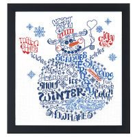 Lets Be Jolly Counted Cross Stitch Kit