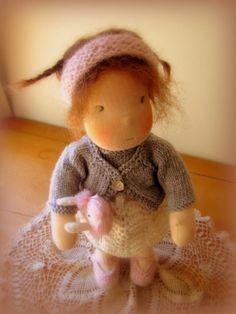 Gwen 14 Zoll Waldorf Puppe von MissMollysDolls auf Etsy, $145.00