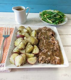 slow roasted pork slow roasted pork shoulder with savory apple gravy ...