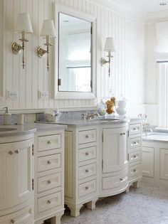 Beautiful White Bath Suite ! Centsational Girl