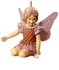 Retired Cicely Mary Barker Thrift Garden Flower Fairy Ornament Figuerine | eBay