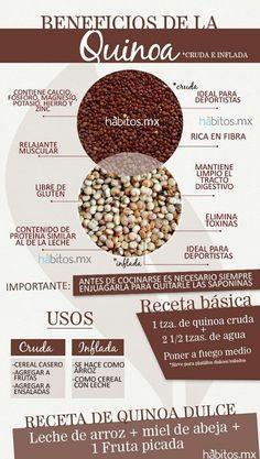 Quinoa  #Nutrición y #Salud YG > nutricionysaludyg.com