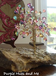We used to make these beaded wire trees in the 70s!