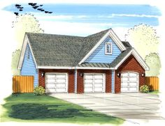 1000 Images About Garage House Plans On Pinterest