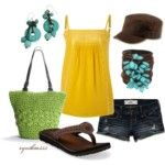 Adorable Sundress - Polyvore