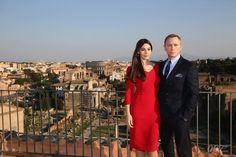 "New James Bond movie ""Spectre"" started the #Rome leg of its shoot today 19th Feb, 2015 | #MonicaBellucci #DanielCraig #cinema #movie #007 #JamesBond #Italia #Italy #tourism"