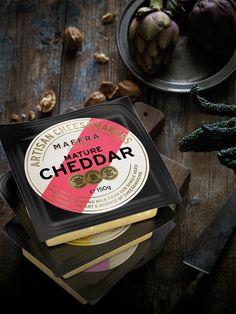 Maffra cheese packaging - modern yet still traditional