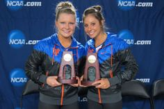 Gators Bridget Sloan (balance beam) and Alaina Johnson (uneven bars) claimed NCAA event titles Sunday.