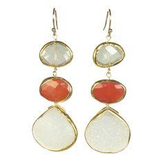 $158 http://www.margaretelizabeth.com/collections/150-225/products/3-stone-drops-orange-carnelian