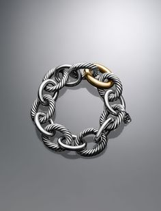 David Yurman Oval Extra Large Link Bracelet. Goes with everything!