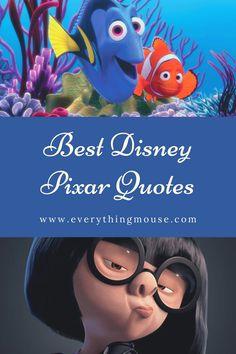 The Best Disney Inspirational Quotes from Walt Disney himself, Disney Princess Movies, Disney Movies and inspirational quotes for motivation. #DisneyQuotes