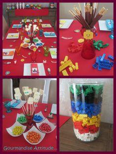 lego Plus Source by nathaliethory Lego Ninjago, Lego Duplo, Ninjago Party, 9th Birthday Parties, Lego Birthday Party, Boy Birthday, Legos, Imprimibles Toy Story, Party Like Its 1999