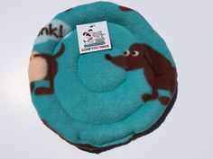 Flying Saucer, Fleece Frisbee, Dog Disc, Soft Toys, Gifts Under 10, Guinea Pig Bed, Indoor Dog Toys, Puppy Teething Toy, Made in Colorado by ComfyPetPads on Etsy