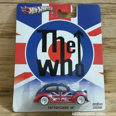2013 HOT WHEELS POP CULTURE THE WHO FAT FENDERED '40 REAL RIDERS