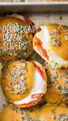 Finger Food Appetizers, Yummy Appetizers, Appetizer Recipes, Dinner Recipes, Slider Recipes, Dinners, Meals, Football Food, Food For A Crowd