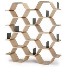 Designed by Luka Stepan, the ash Polygon Shelving Unit makes a perfect contemporary and practical storage solution to your home. Barrister Bookcase, Bookcases, Bookcase Styling, Ad Hoc, Shelf Design, Deco Design, Mid Century House, Drawing Room, Office Decor