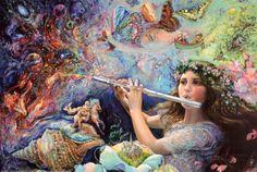 オールポスターズの ジョセフィン・ウォール「Enchanted Flute」高画質プリント