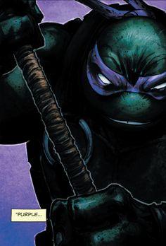"""""""Purple..."""" (Batman/Teenage Mutant Ninja Turtles #1)"""