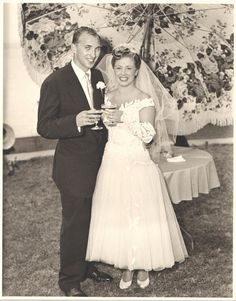 Vintage snack: a look at one couple then and now | Offbeat Bride