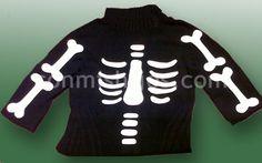 Manualidad disfraz de esqueleto. Paso 3