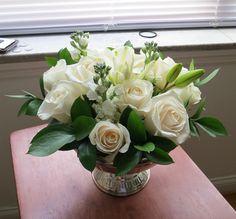 My beautiful Sam's Club flowers! :  wedding flowers sams club Centerpieces Arranged Resized