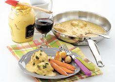 HAUTS DE CUISSE DE POULET À LA MOUTARDE La moutarde donne un punch à ce petit souper rapide.
