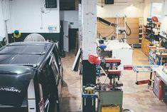 Unser Movovan Workshop in Berlin. Hier entstehen unsere Traumcamper.