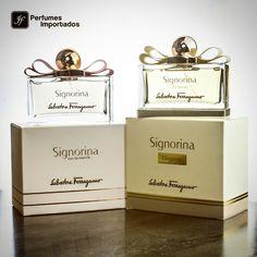 Encontre o presente perfeito para aquela que sempre nos vê perfeitamente! A linha Signorina de Salvatore Ferragamo é destinada a mulheres modernas e sofisticadas. As mães merecem! Acesse: www.perfumesimportadosjf.com.br #perfume #importado #perfumesimportadosjf #fragrance #fragrancemist #fragrancia #fragrances #salvatoreferragamo #salvatore #signorina #eleganza #eaudeparfum #signorinaeleganza #