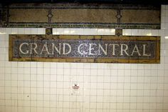 NYC - Grand Central Subway Station (IRT)