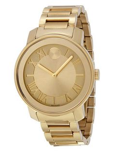 Men's Bold Quartz Ionic-Plated Stainless Steel Watch from Movado Watches on Gilt
