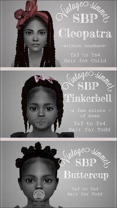 Toddler Hair Sims 4, Sims Baby, Sims 4 Teen, Sims 4 Cas Mods, Sims 4 Body Mods, Sims 4 Cc Folder, Sims 4 Traits, Sims 4 Black Hair, Sims 4 Children
