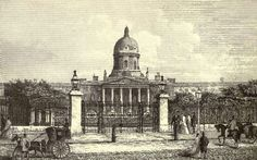 """The famous mental hospital of St Bethlehem's or """"Bedlam"""" occupied three different sites in London before closing its doors in 1930 – on the site of Liverpool Street Station, in Moorfields, and in the building that is now the Imperial War Musuem (pictured). Much of the hospital's income was derived from letting visitors view the patients. In the 1800s, a local pub even built a balcony so drinkers could stare into the hospital's garden."""