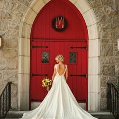 swoop back wedding dress