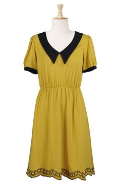 Fall Dress..i love the simplicity of this dress. Would totally wear it