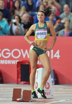 A picture of Michelle Jenneke. This site is a community effort to recognize the hard work of female athletes, fitness models, and bodybuilders. Michelle Jenneke, Beautiful Athletes, Athletic Girls, Poster S, Sporty Girls, Sports Stars, Female Athletes, Women Athletes, Track And Field