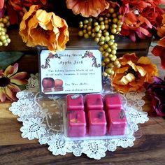 Apple Jack  Peel Soy Tarts Soy Melts Soy Clam by TheShabbyWitch, $3.99