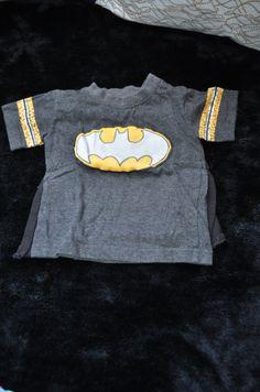 Batman and Superma tops -. Visit www.sellmykidsstuff.com