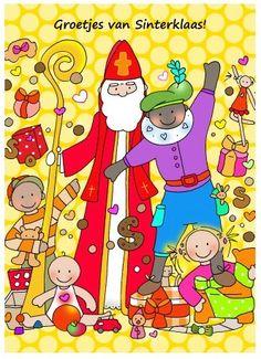 Groetjes van Sinterklaas